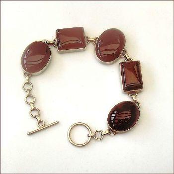 Indian Bracelet with Carnelian